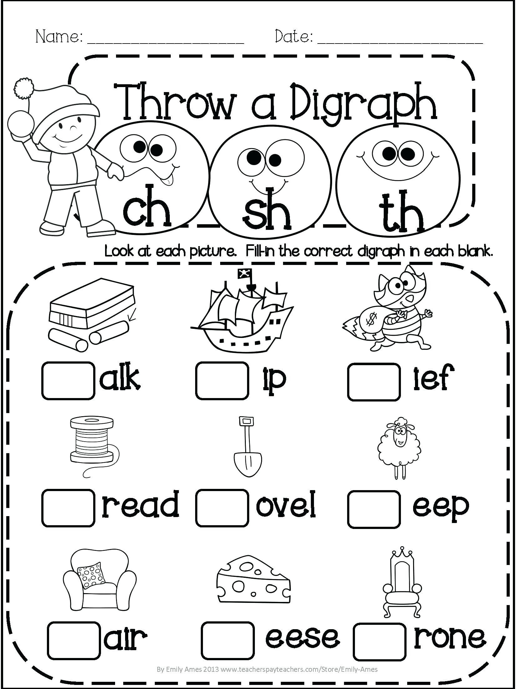 1st Grade Reading Worksheets Pdf 1989 Generationinitiative Page 5 Free Printable Math