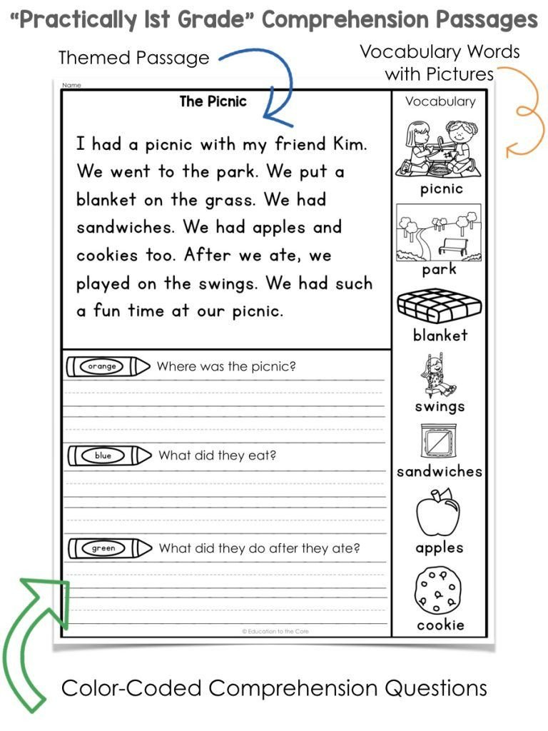1st Grade Reading Worksheets Pdf 1st Grade Reading Worksheets Pdf to Free Math