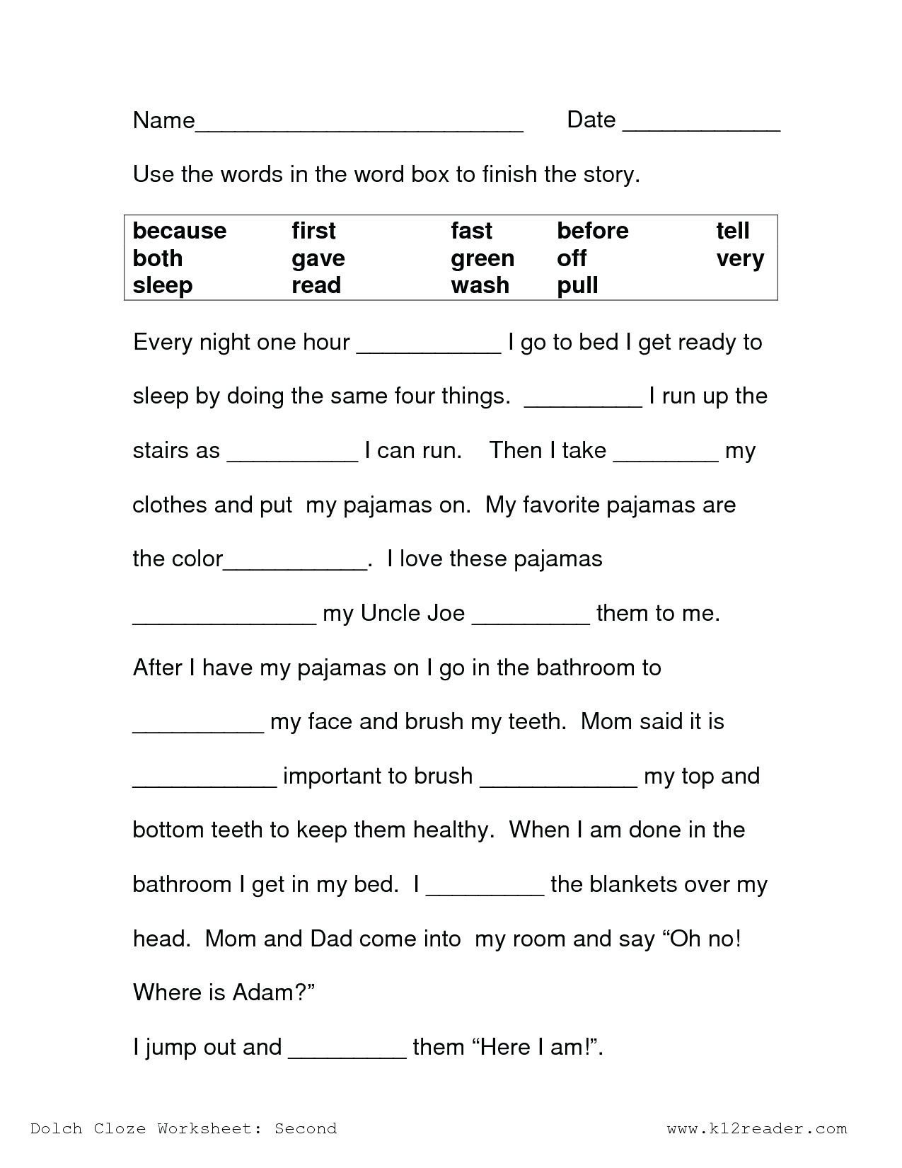 1st Grade Reading Worksheets Pdf 2nd Grade Reading Prehension Pdf Luxury Reading