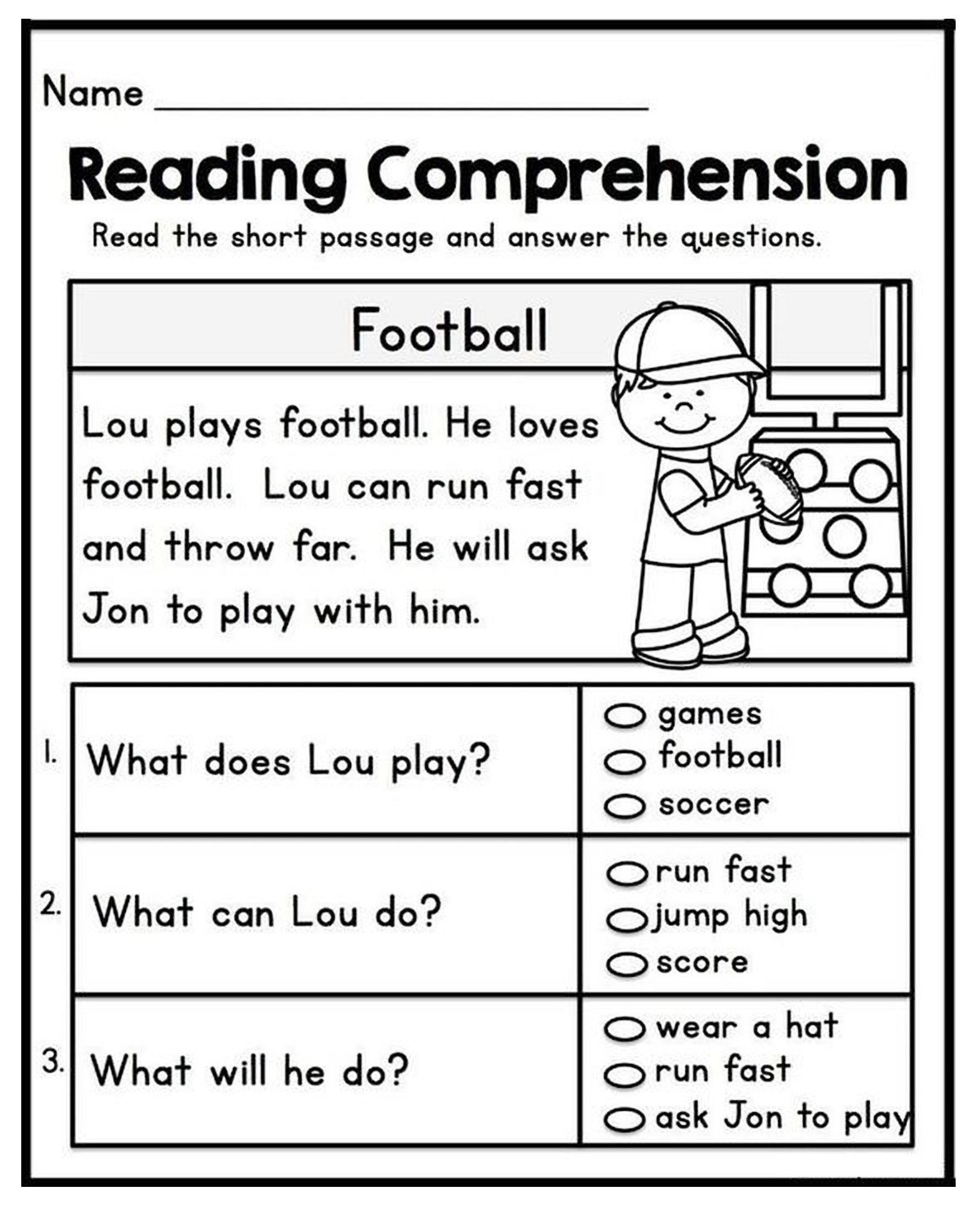 1st Grade Reading Worksheets Pdf Short Passages for 1st Grade First Pdf Reading Fluency