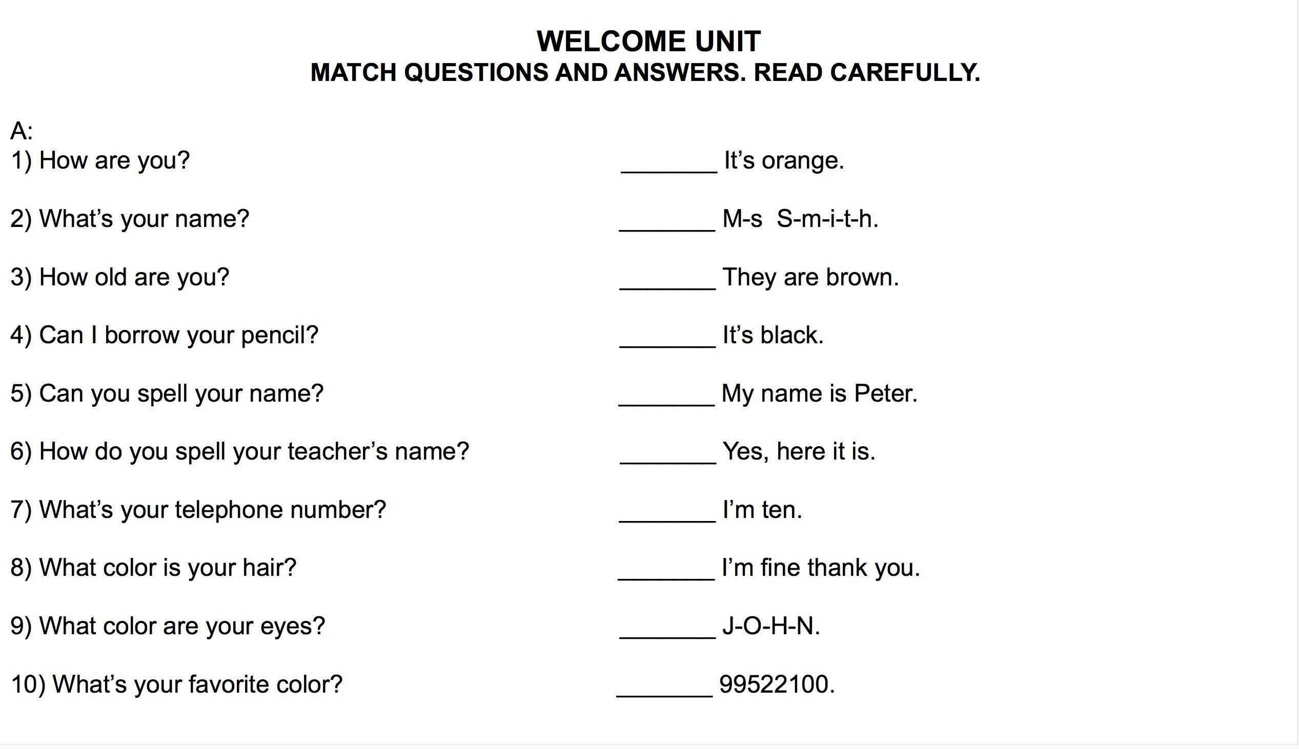 4 free grammar worksheets second grade 2 capitalization place