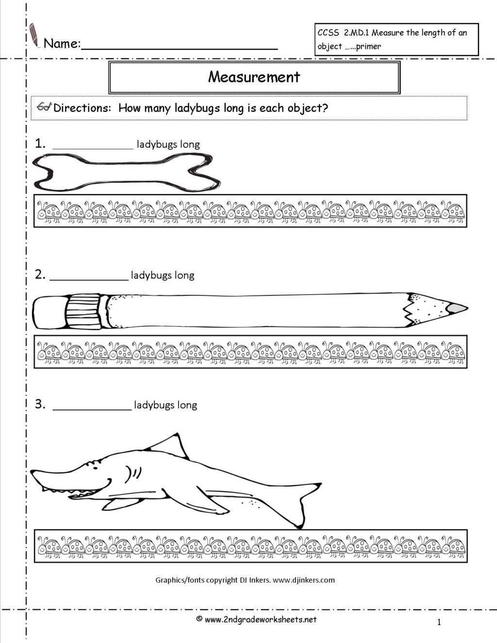 2nd Grade Measurement Worksheets Worksheet Worksheet Secondrade Measurement Worksheets