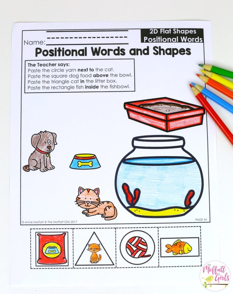 3d Shapes Worksheet Kindergarten Kindergarten Math Curriculum Shapes