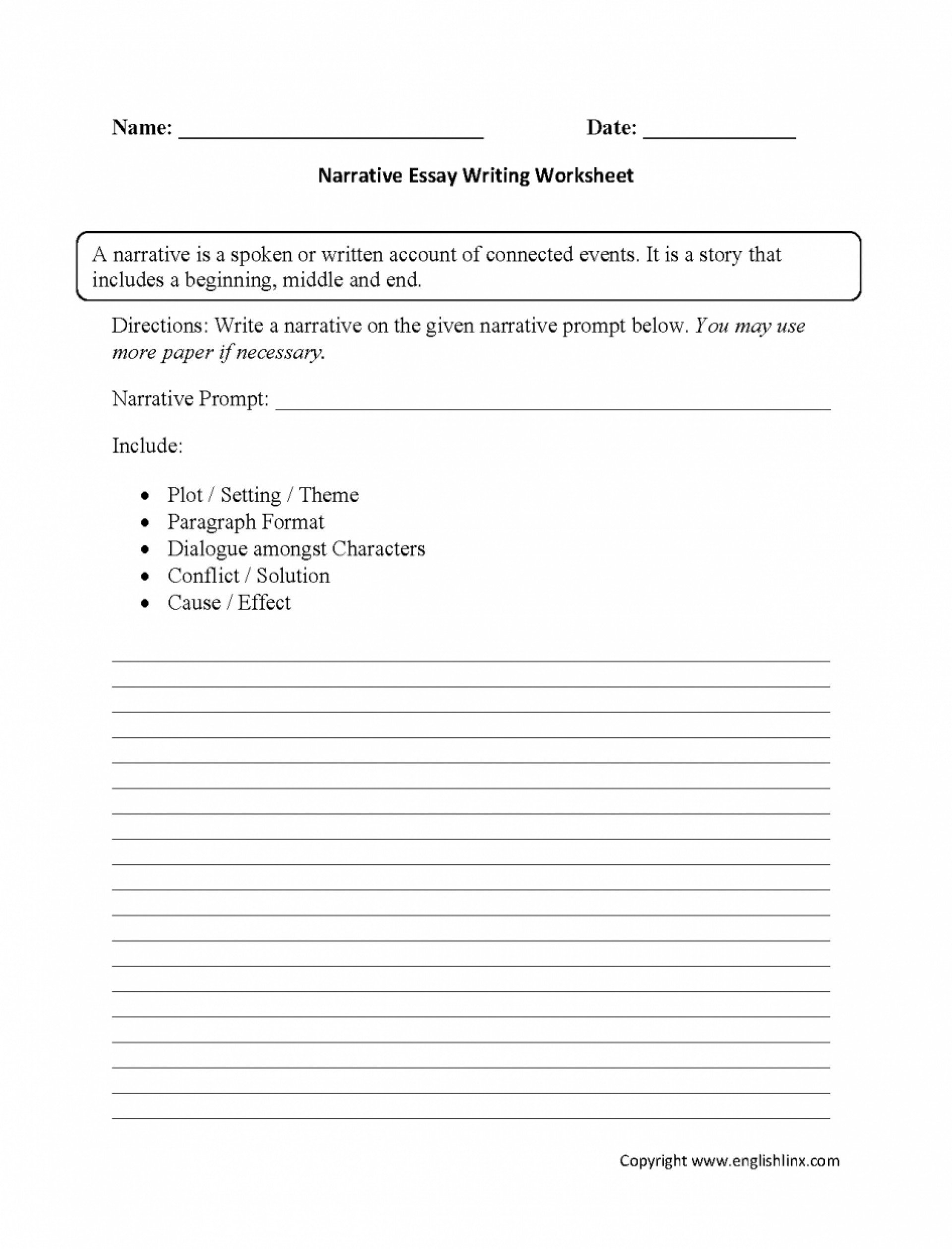3rd Grade Essay Writing Worksheet Paragraps 3rd Grade Writing Worksheets