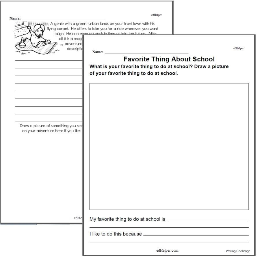 3rd Grade Essay Writing Worksheet Writing Worksheets for Creative Kids