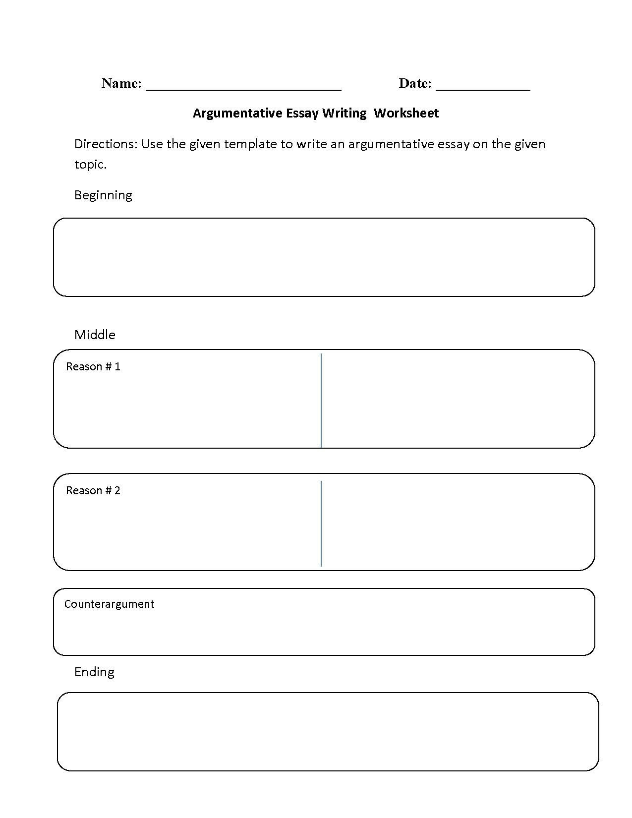 3rd Grade Essay Writing Worksheet Writing Worksheets