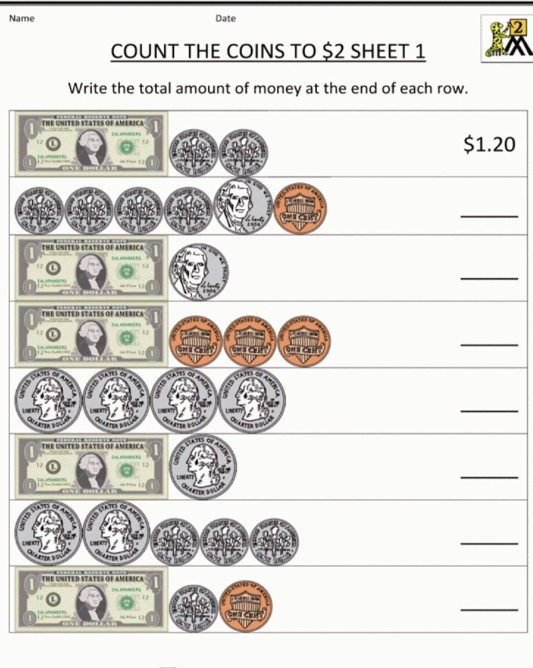 3rd Grade Money Worksheets Pin On Homeschool