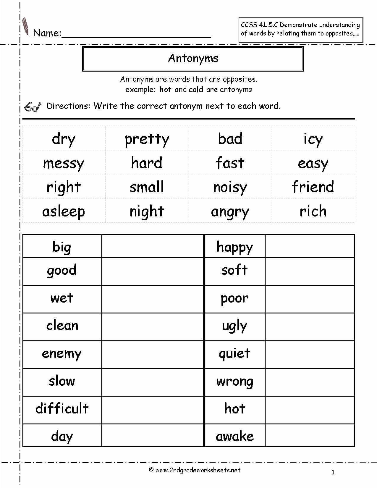 4th Grade Grammar Worksheets Pdf 2nd Grade Grammar Worksheets Pdf New Free Language Grammar