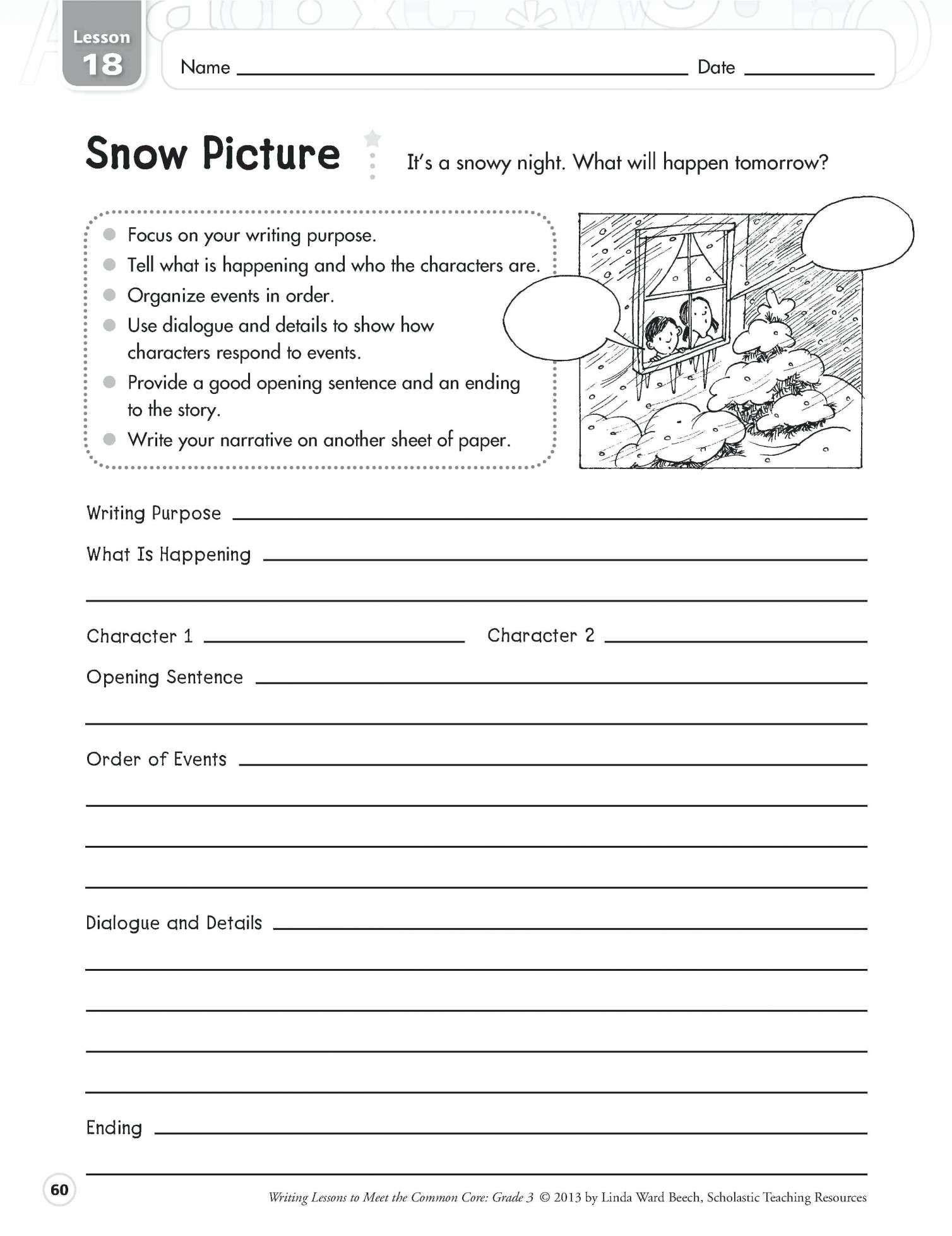 4Th Grade Printable Worksheets Language Arts and Fourth