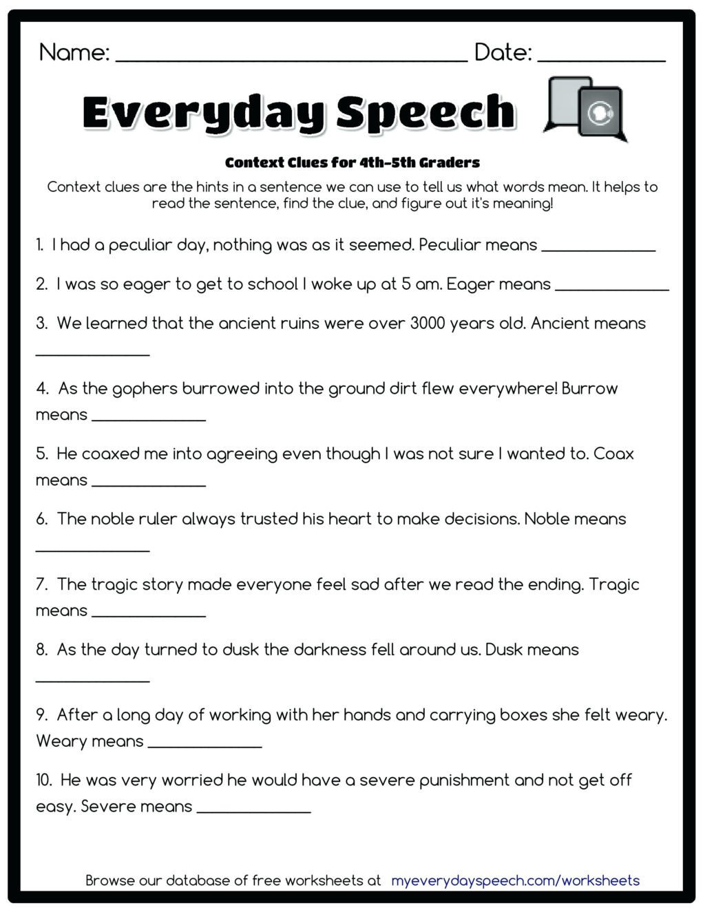 4th Grade Paragraph Writing Worksheets Worksheet Free Mathorksheets to Print Out Graderiting