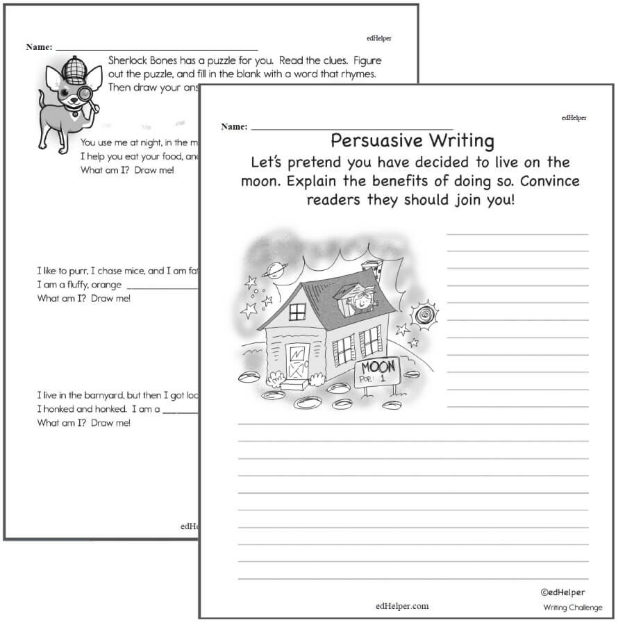 4th Grade Paragraph Writing Worksheets Writing Worksheets for Creative Kids