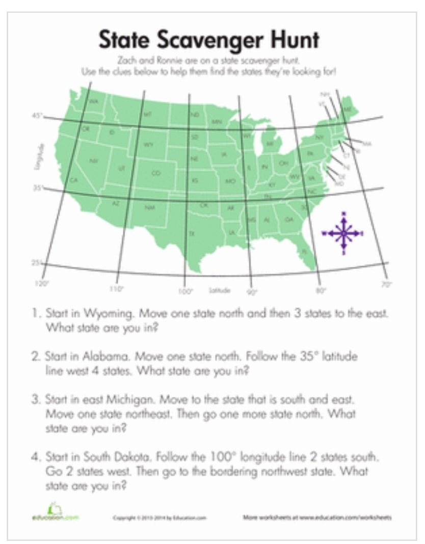 5th Grade Geography Worksheets Pin by Prasenna Chellappa On Education