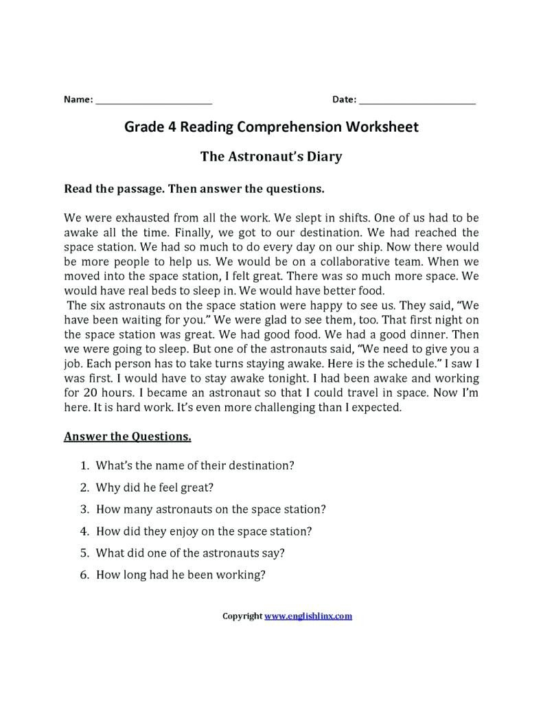 9th Grade Reading Comprehension Worksheet Worksheet Worksheet Ela 2nd Grade Worksheets Image