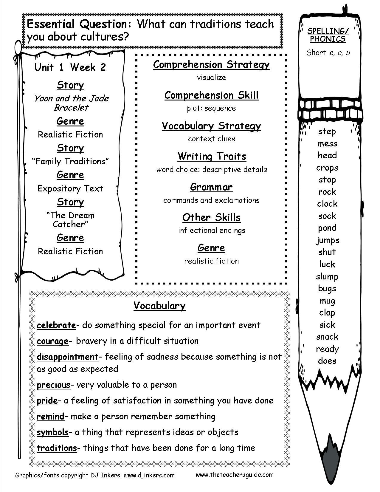 9th Grade Reading Worksheets Mcgraw Wonders Third Grade Resources and Printouts 3rd