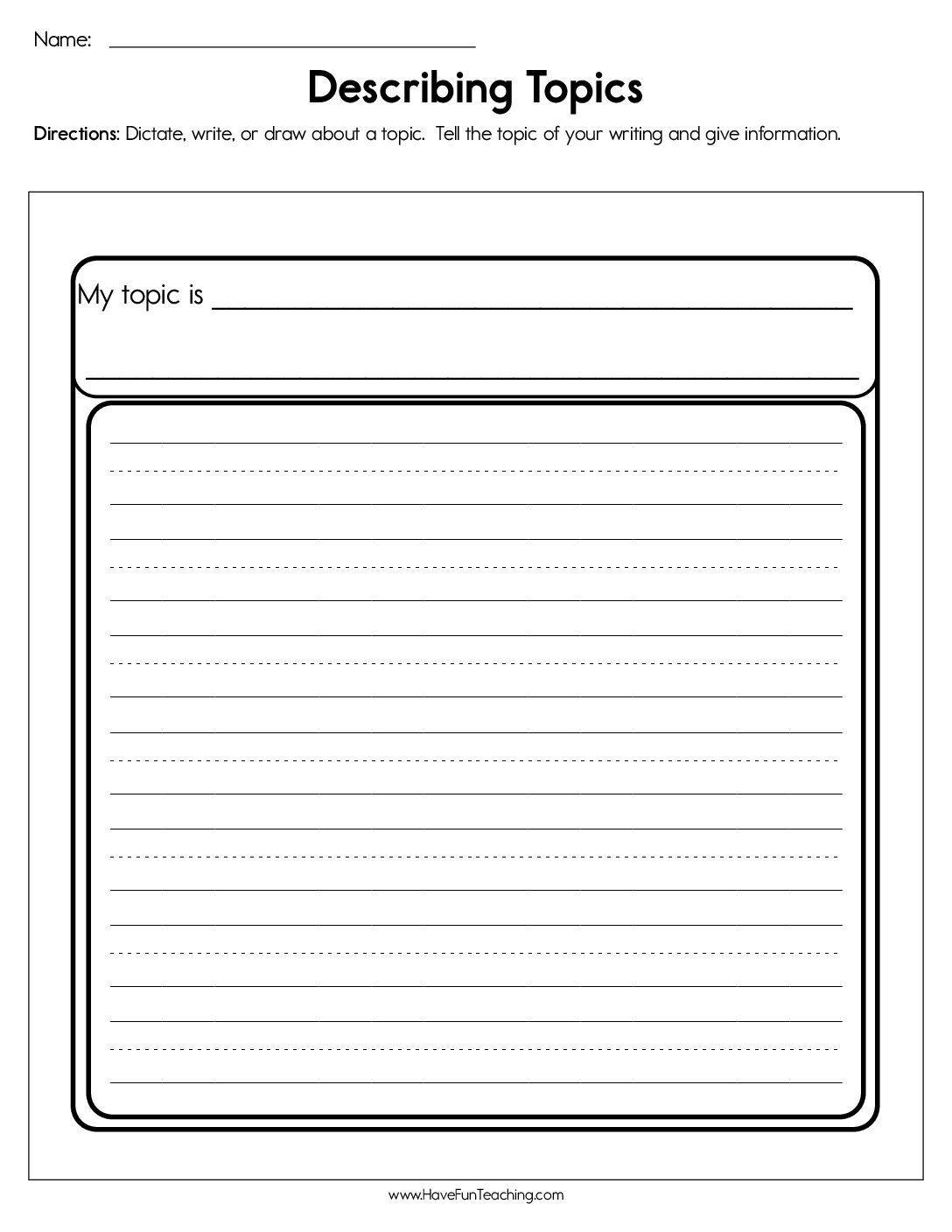 Adjectives Worksheets 3rd Grade Adjectives Worksheets • Have Fun Teaching
