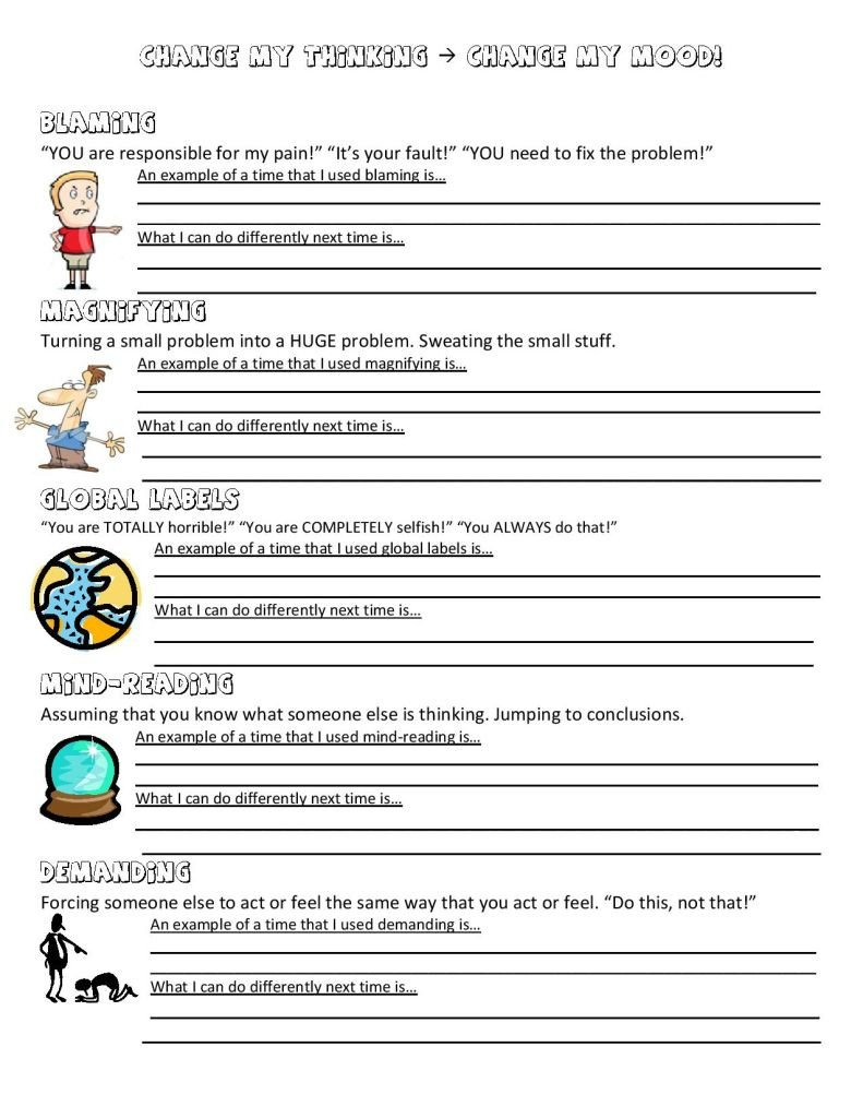 Anger thermometer Worksheet Anger Management Worksheet