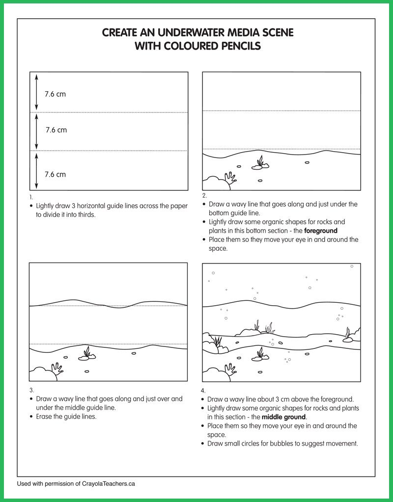 Art Worksheets Middle School Art Worksheets Crayola Teachers