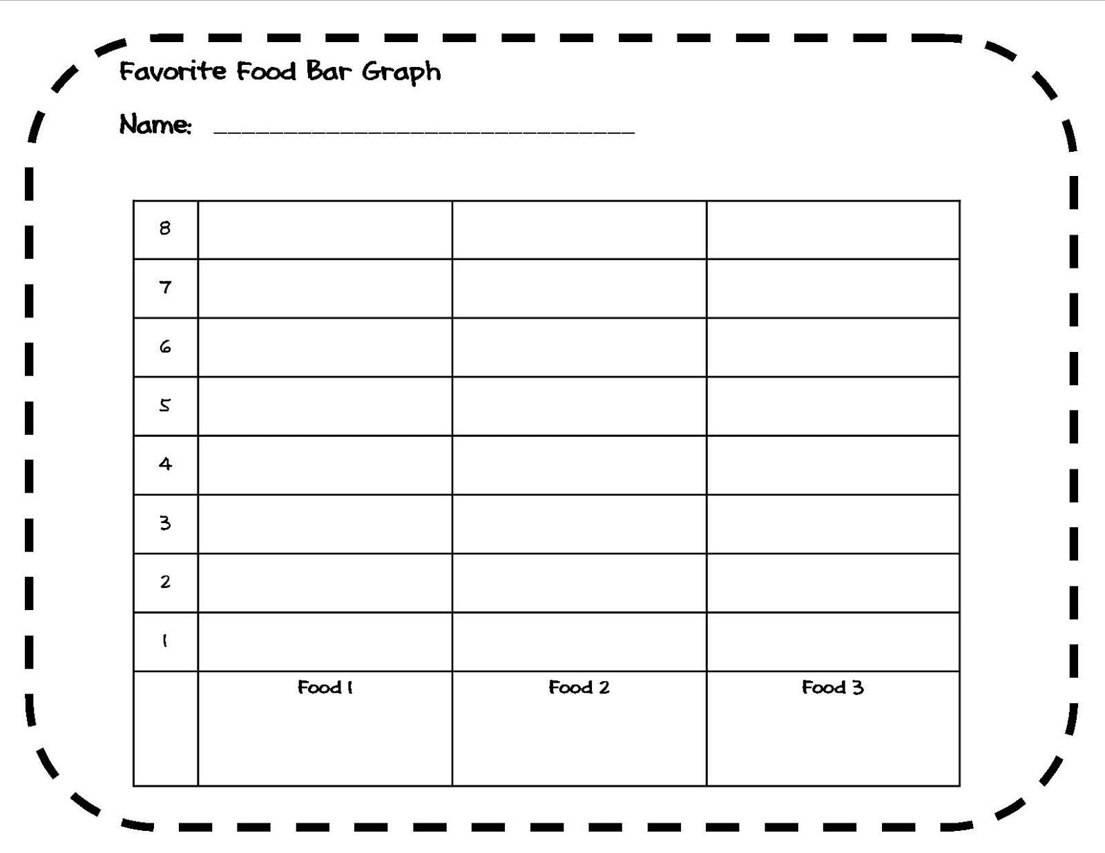 Bar Graph Worksheets 4th Grade Keeping It Core