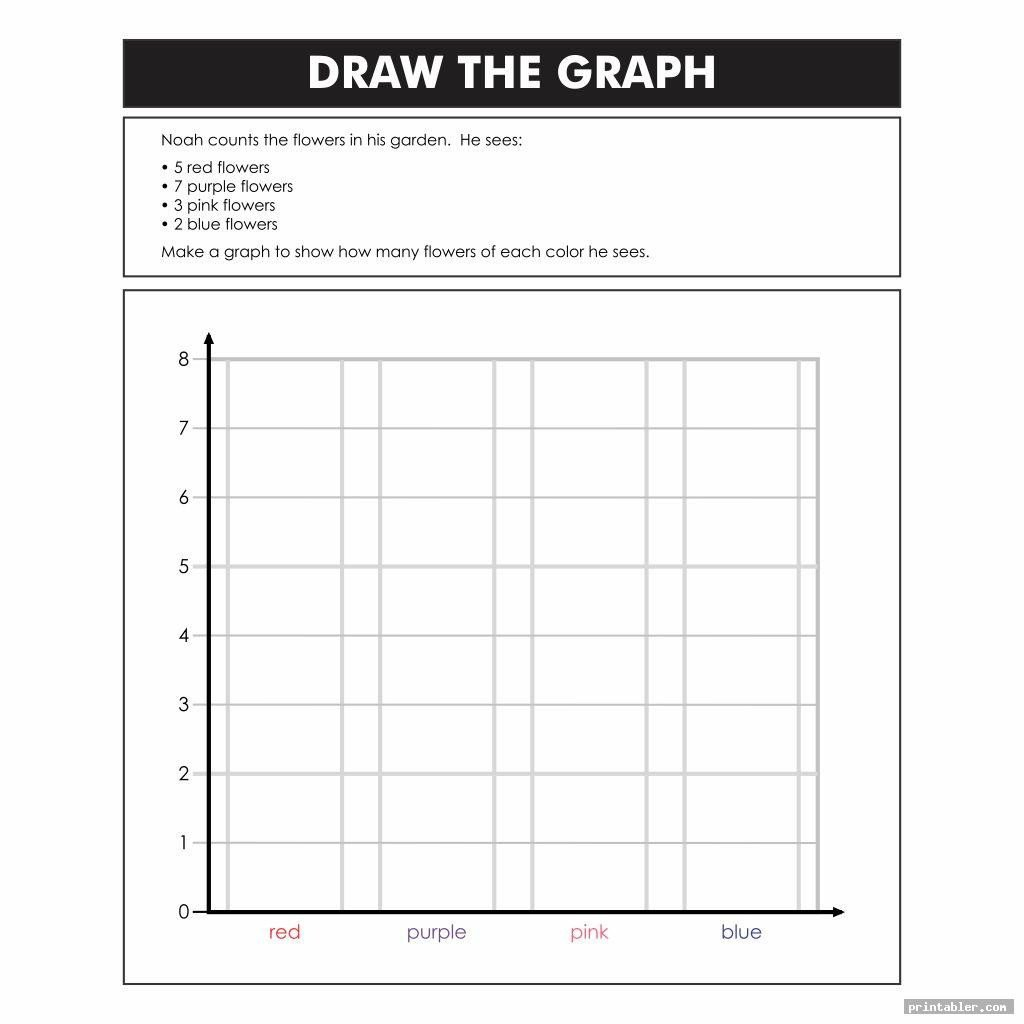 Bar Graph Worksheets 4th Grade Printable Bar Graph Worksheets for 4th Grade