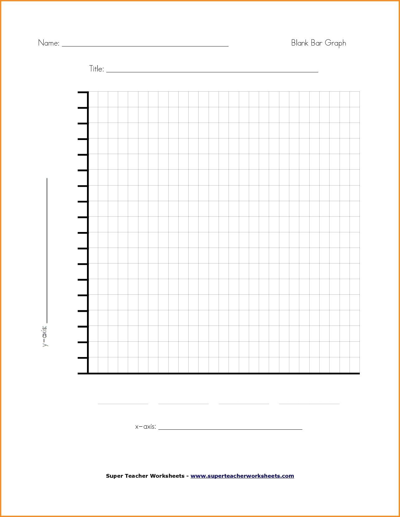 Bar Graph Worksheets Middle School Blank Line Chart Template Writings and Essays Corner