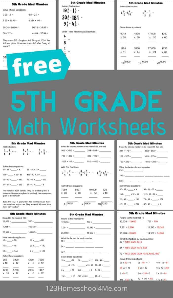 Baseball Math Worksheets 5th Grade Math Worksheets Baseball Simple Mathematics
