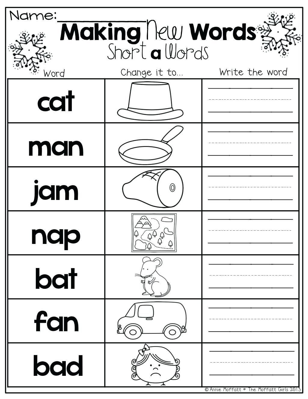 Beginning and Ending sounds Worksheet Beginning Middle Ending sound Worksheets