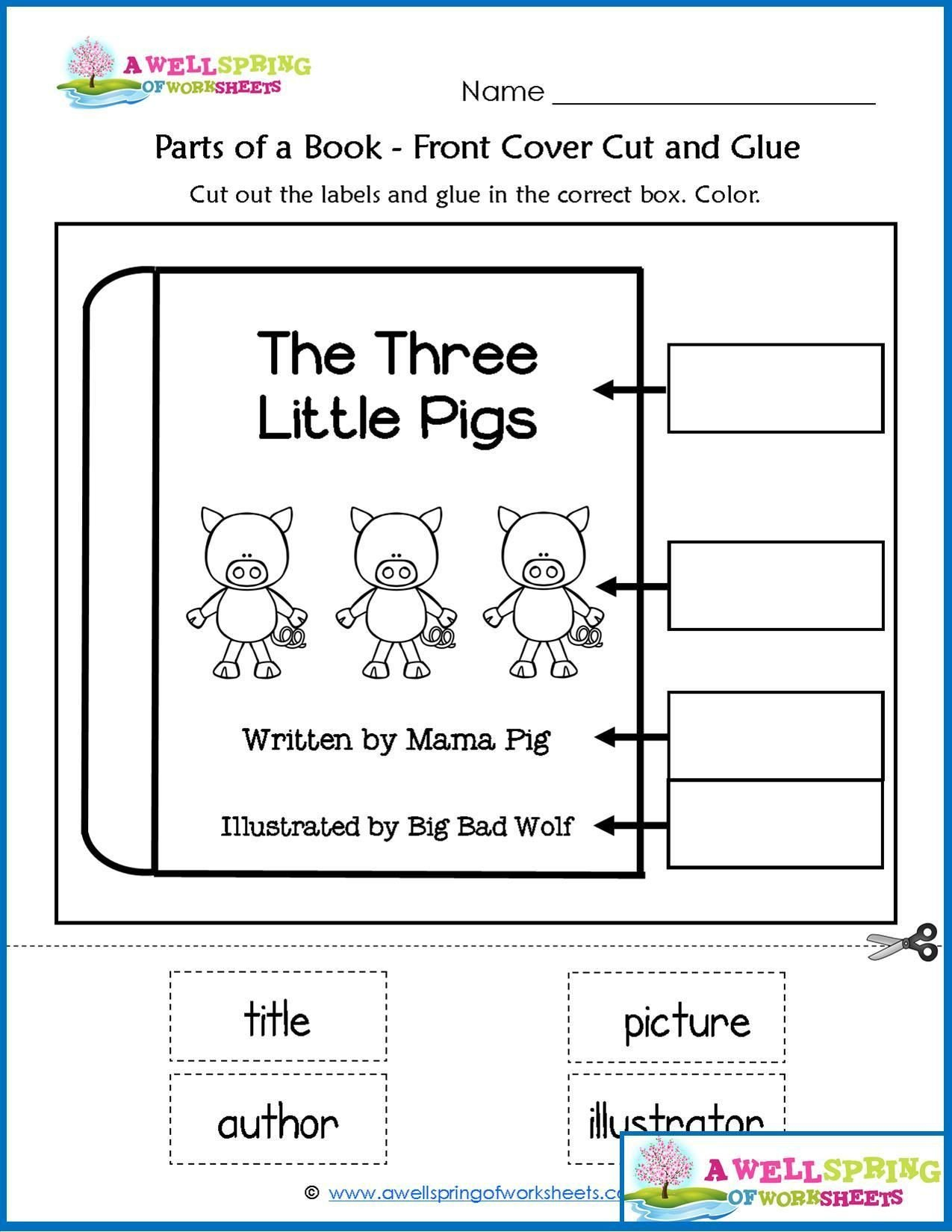 Big Vs Little Worksheets Worksheet Christmas Carol Worksheets Printable Short Xmas