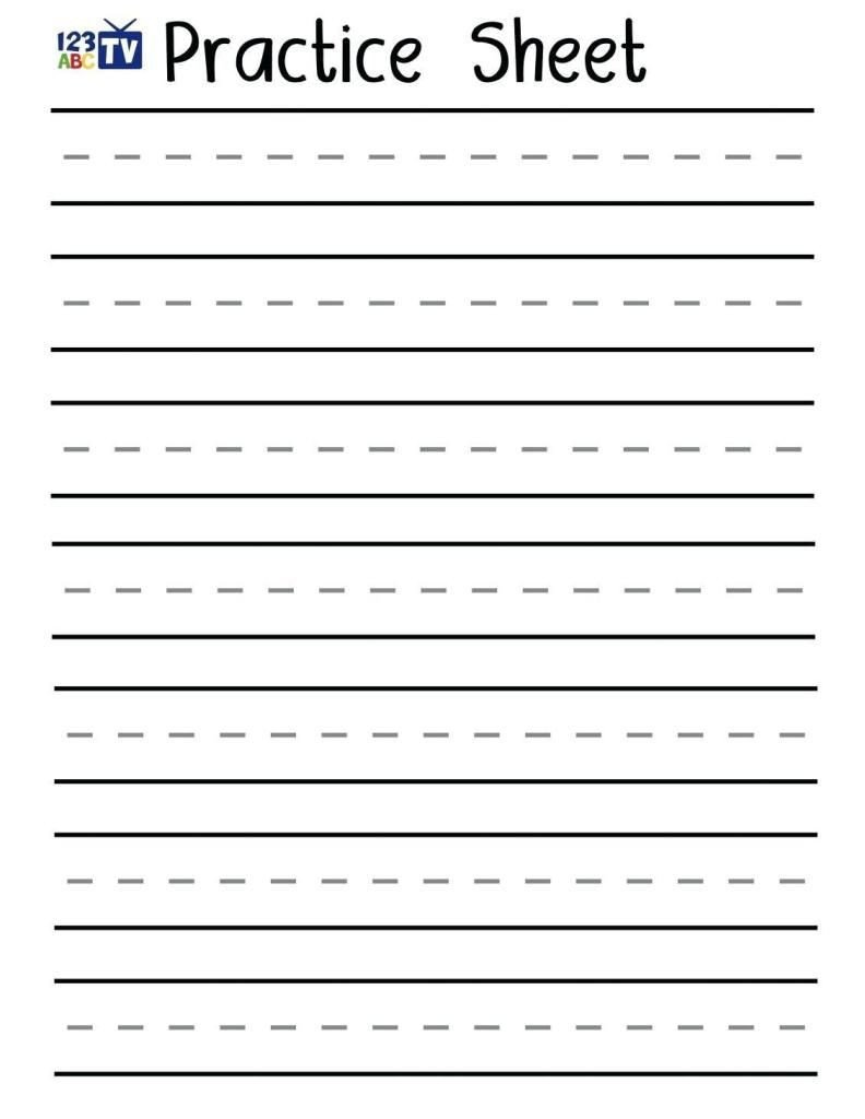 Blank Spelling Practice Worksheets 42 Alphabet Practice Sheets Printable In 2020