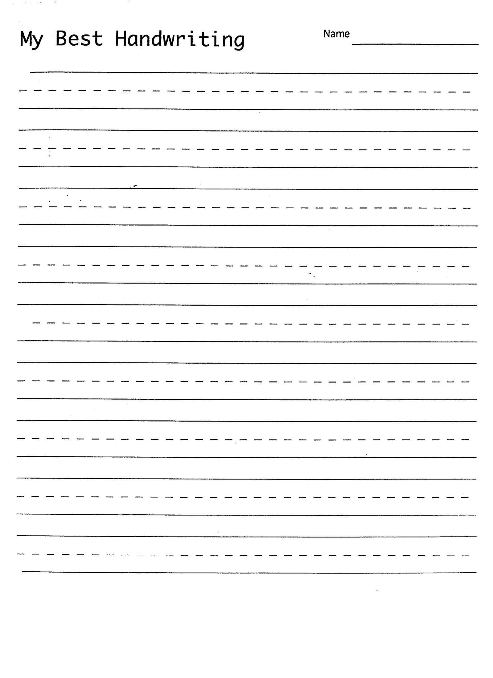 Blank Spelling Practice Worksheets 7 Blank Writing Practice Worksheet Printable In 2020