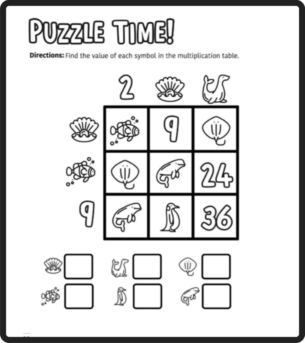 Brain Teasers Worksheets Pdf Free Math Puzzles — Mashup Math