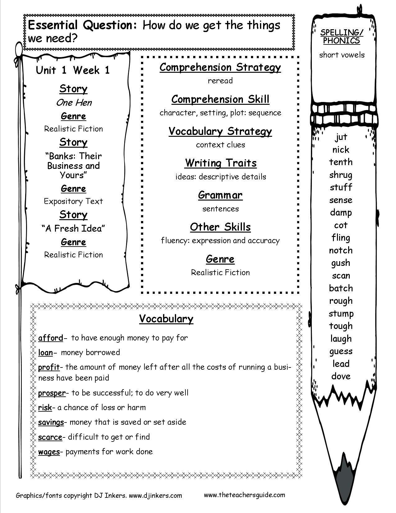 character setting plot worksheet mcgraw hill wonders fifth grade resources and printouts of character setting plot worksheet