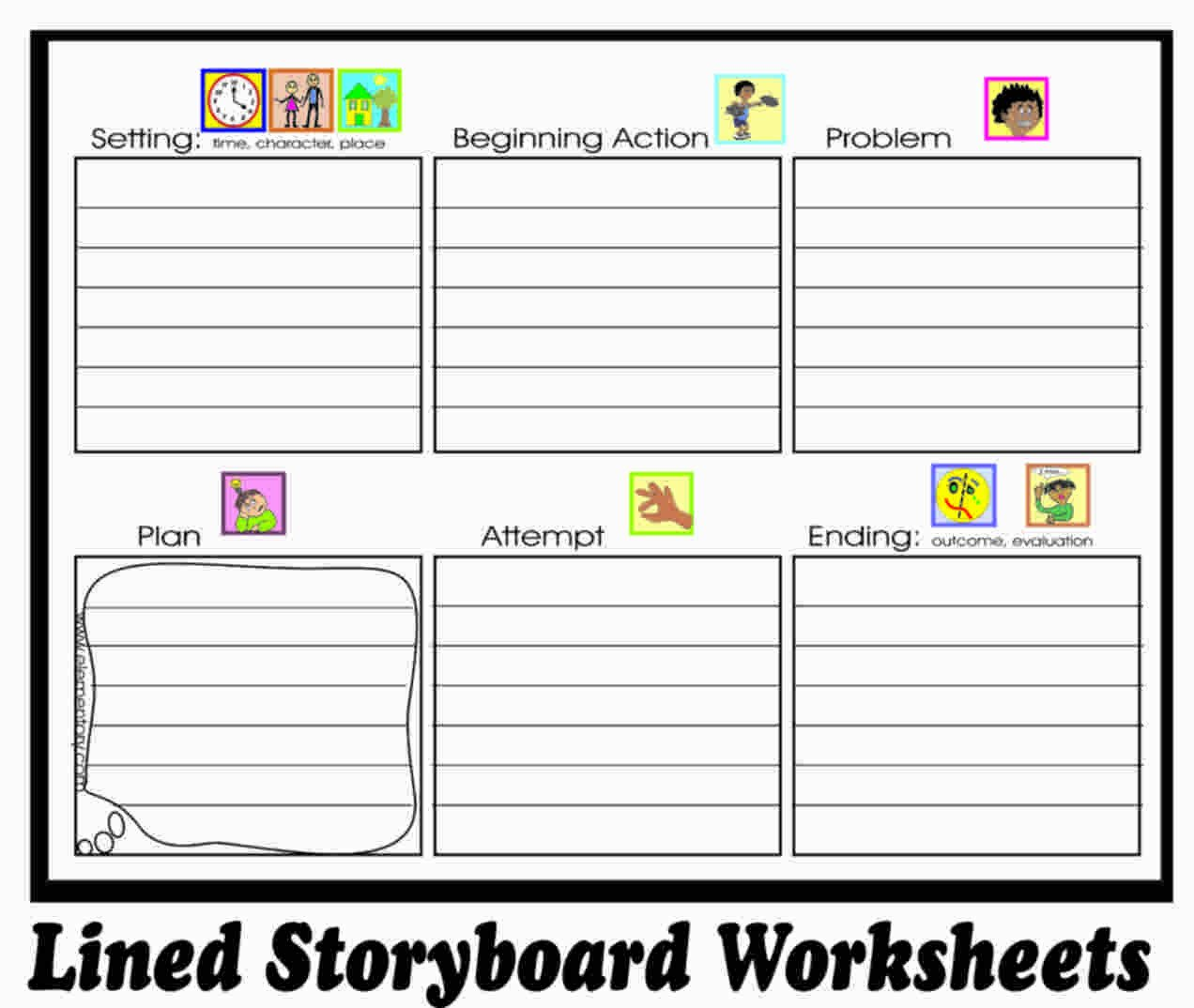 Character and Setting Worksheets Story Writing Worksheets