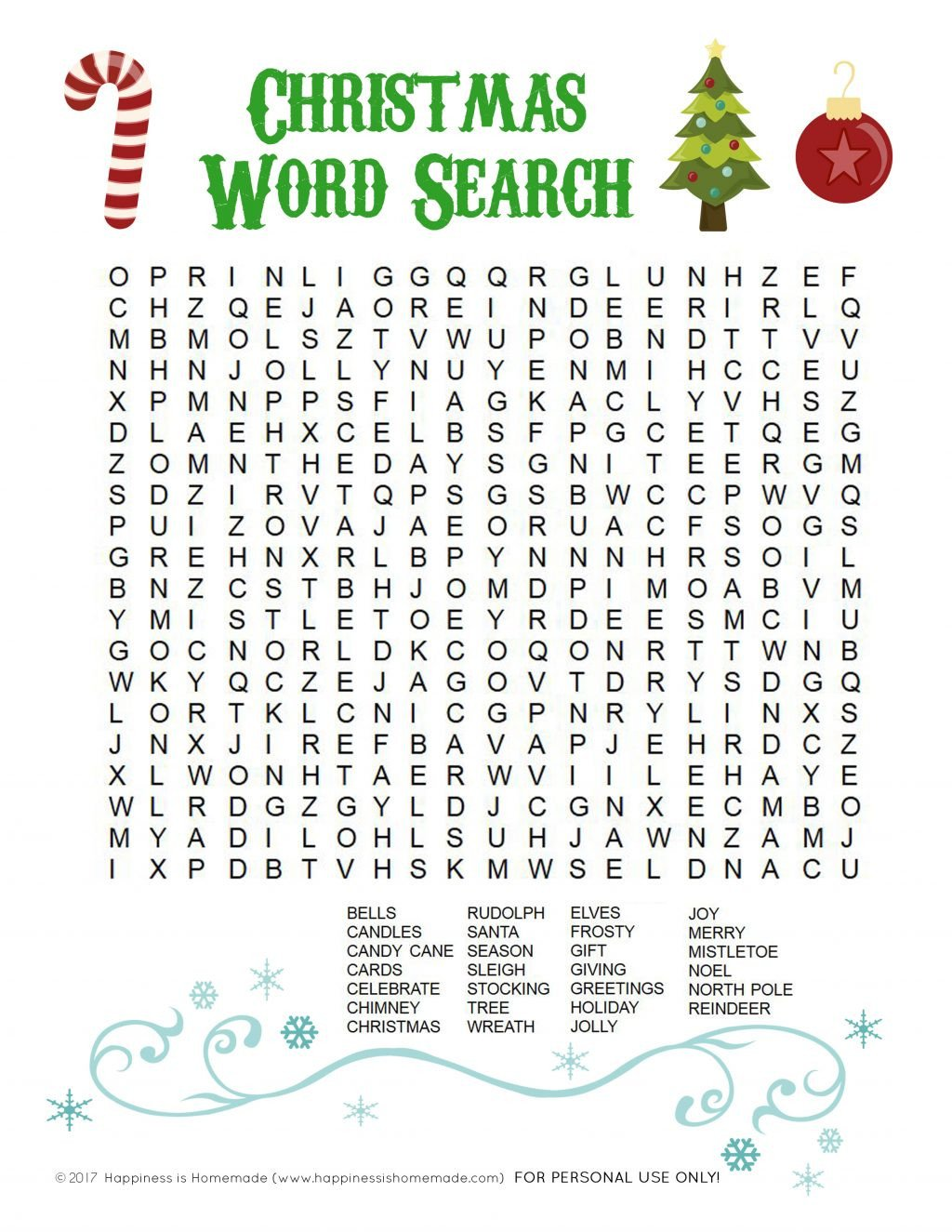 christmas unscramble worksheets 2