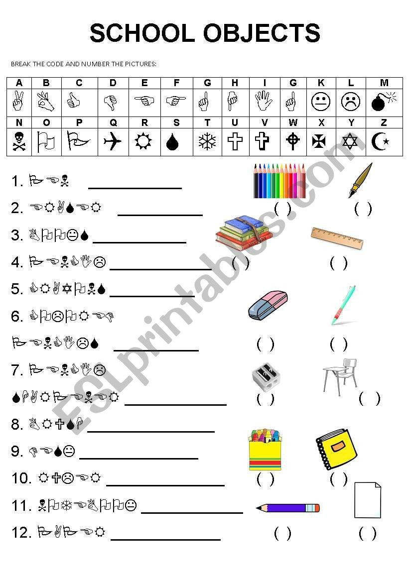 Code Breaking Worksheets Breaking the Code Esl Worksheet by Danitel