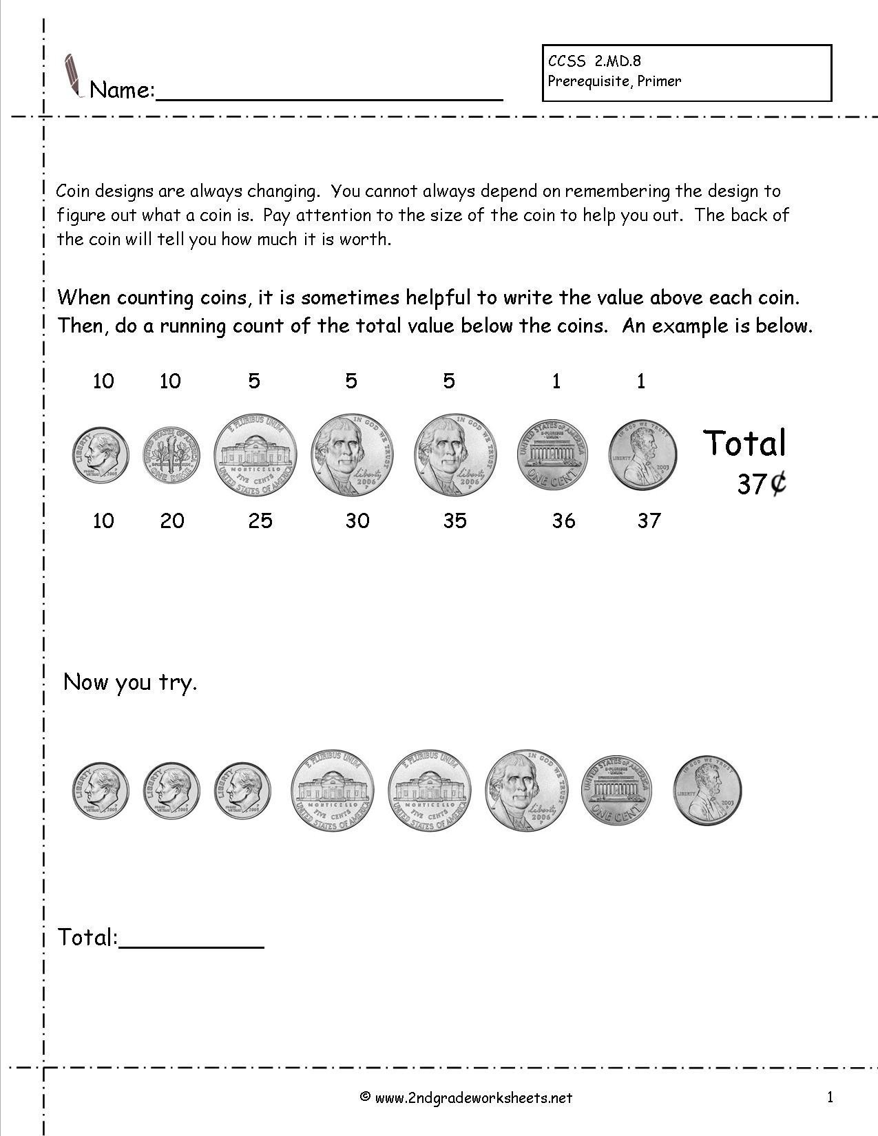 Coin Worksheets First Grade Count Dimes and Nickels Worksheet