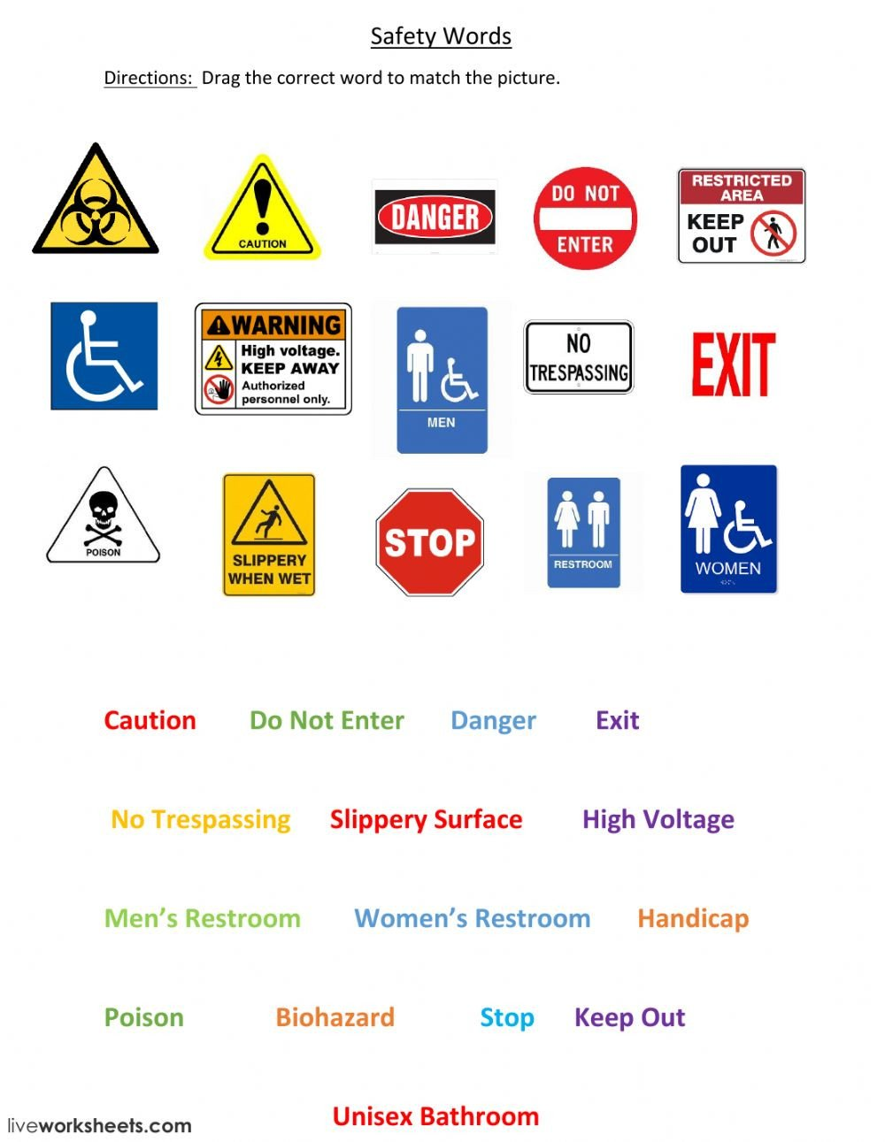 Safety Signs xa4832be