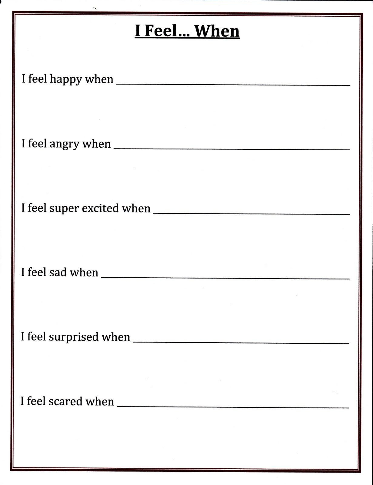 Confidence Building Worksheets Img 1 231—1 600 Pixels