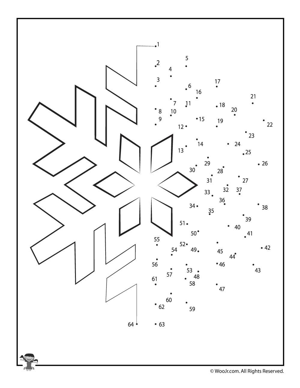 Connect the Dots Christmas Worksheets Christmas Connect the Dots Worksheets