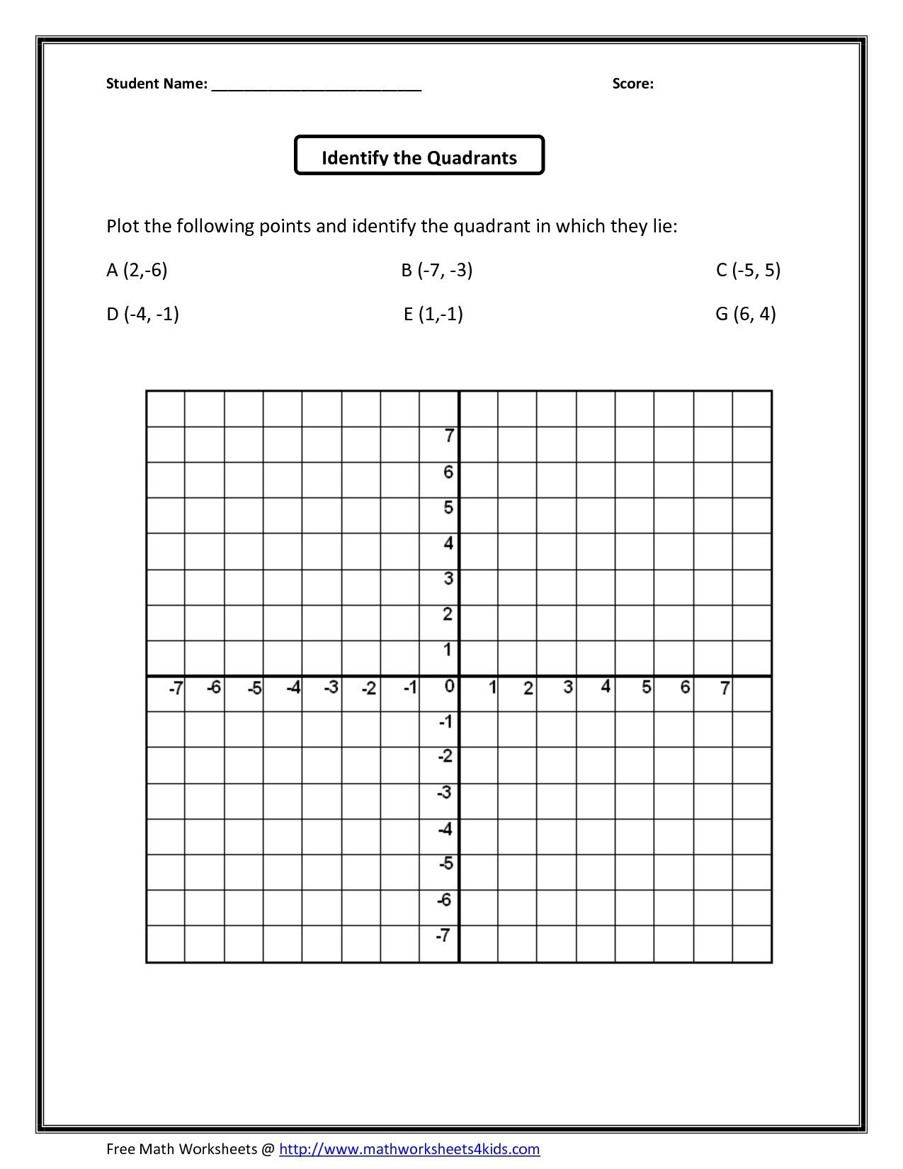 Coordinate Grid Map Worksheets Cartoon Coordinate Grid Worksheets