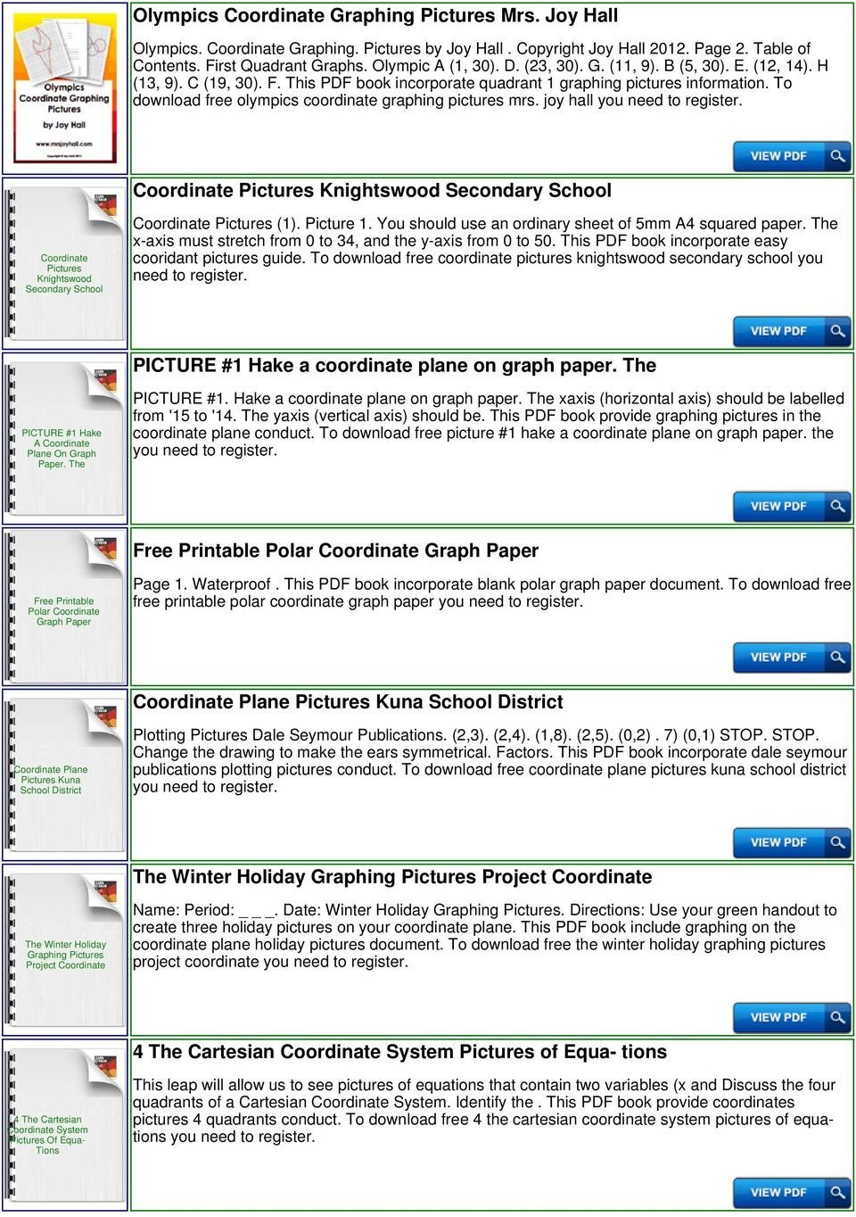 Coordinate Grid Worksheets Pdf Mystery Coordinate Graph Pdf Free Download
