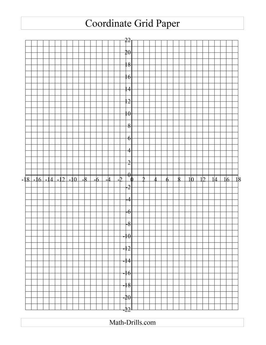 Coordinate Grid Worksheets Pdf the Coordinate Grid Paper B Math Worksheet From the Graph