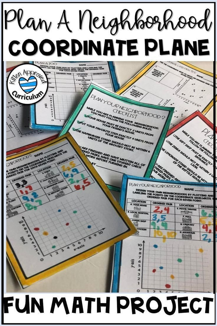 Coordinate Plane Worksheets Middle School Pin On Lesson Plans