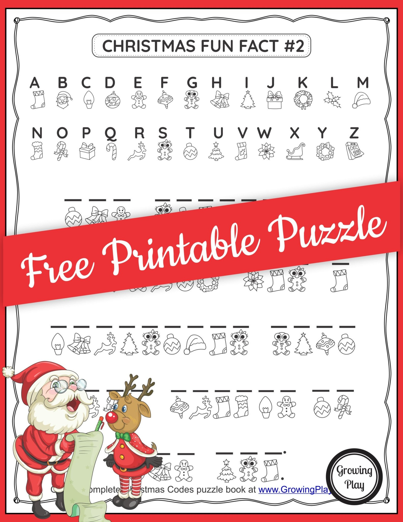 Christmas Code Free Puzzle scaled