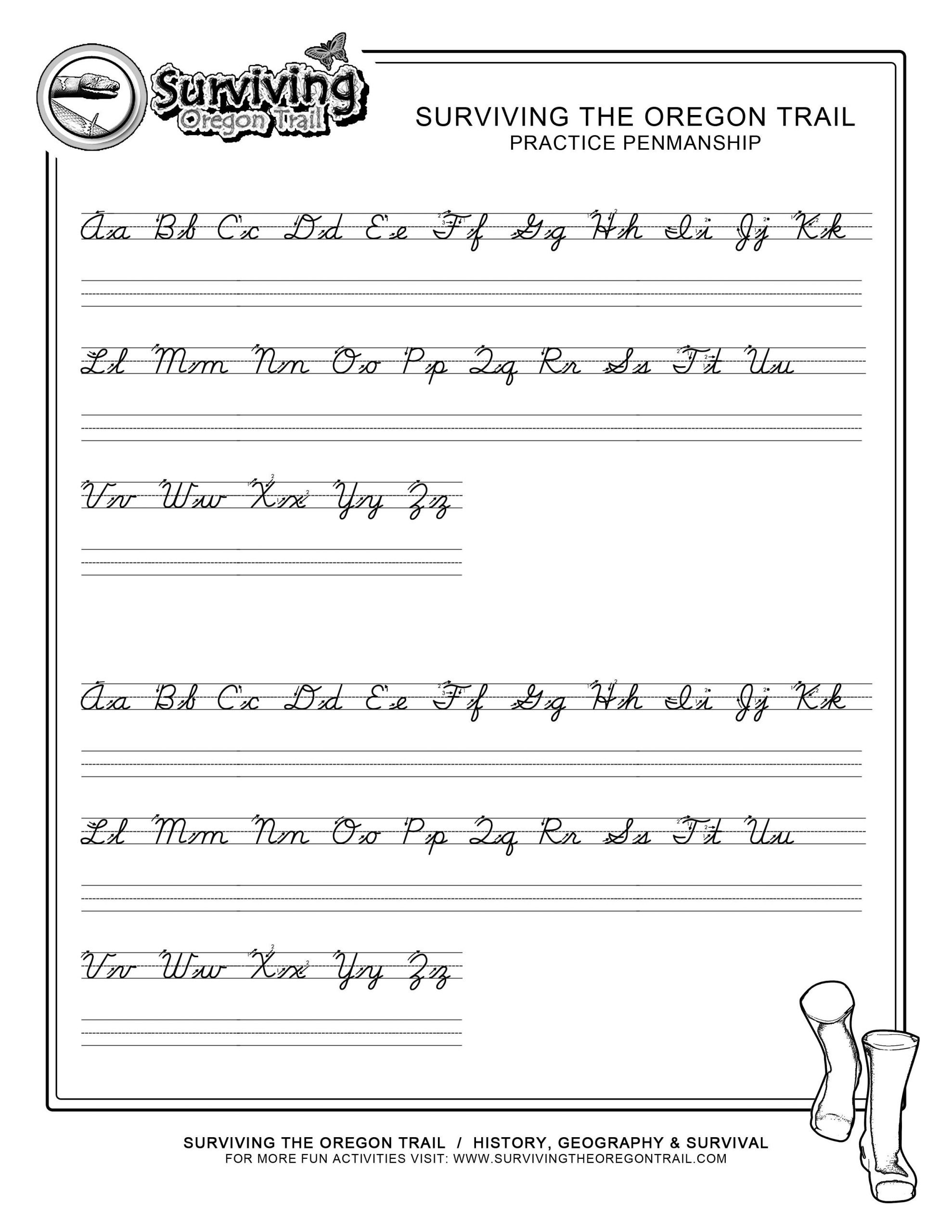Cursive Sentence Worksheets for Cursive Writing Sentences Worksheets 3300
