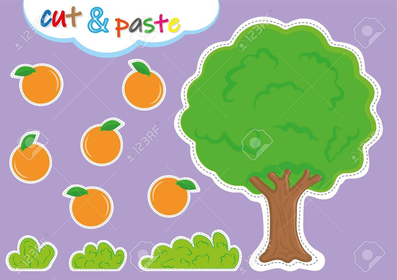 Cut and Paste Worksheet Cut and Paste Activities for Kindergarten Preschool Cutting