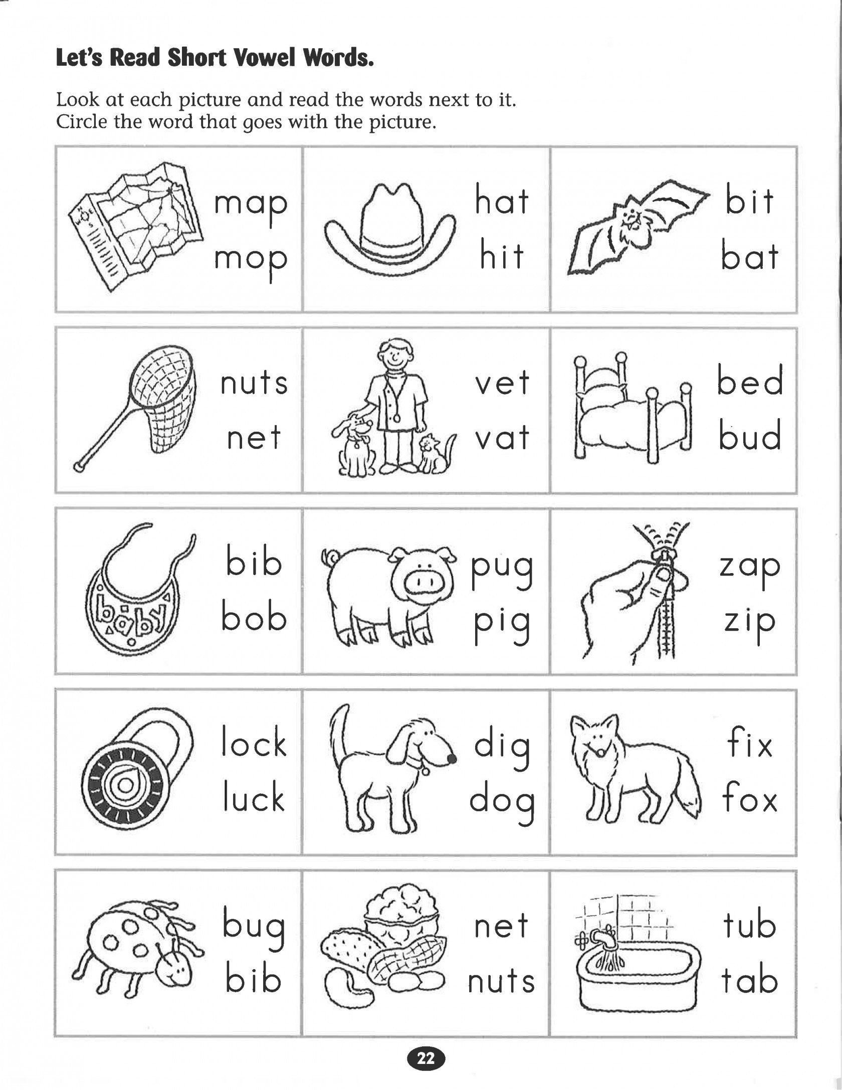 Cvc Worksheets Pdf Pin On Printable Worksheet for Kindergarten