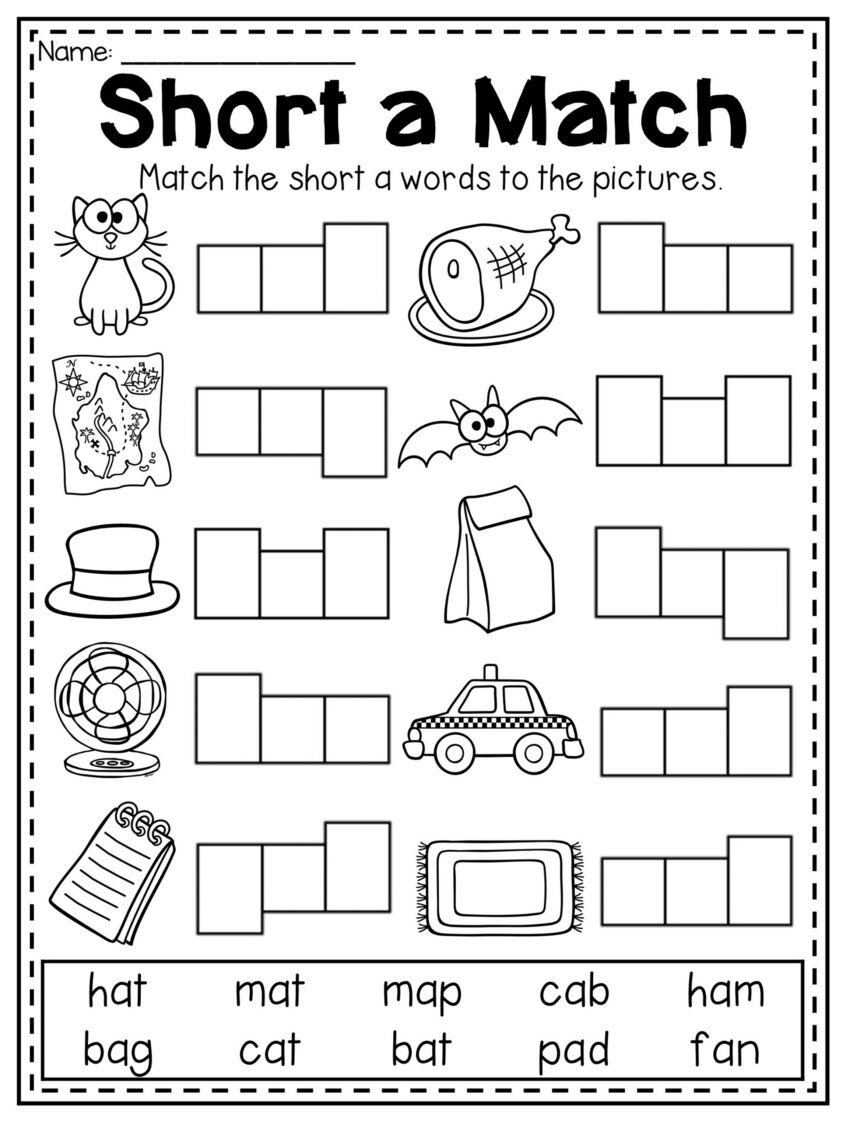 Cvc Worksheets Pdf Worksheets Mega Cvc Worksheet Pack Pre Kindergarten