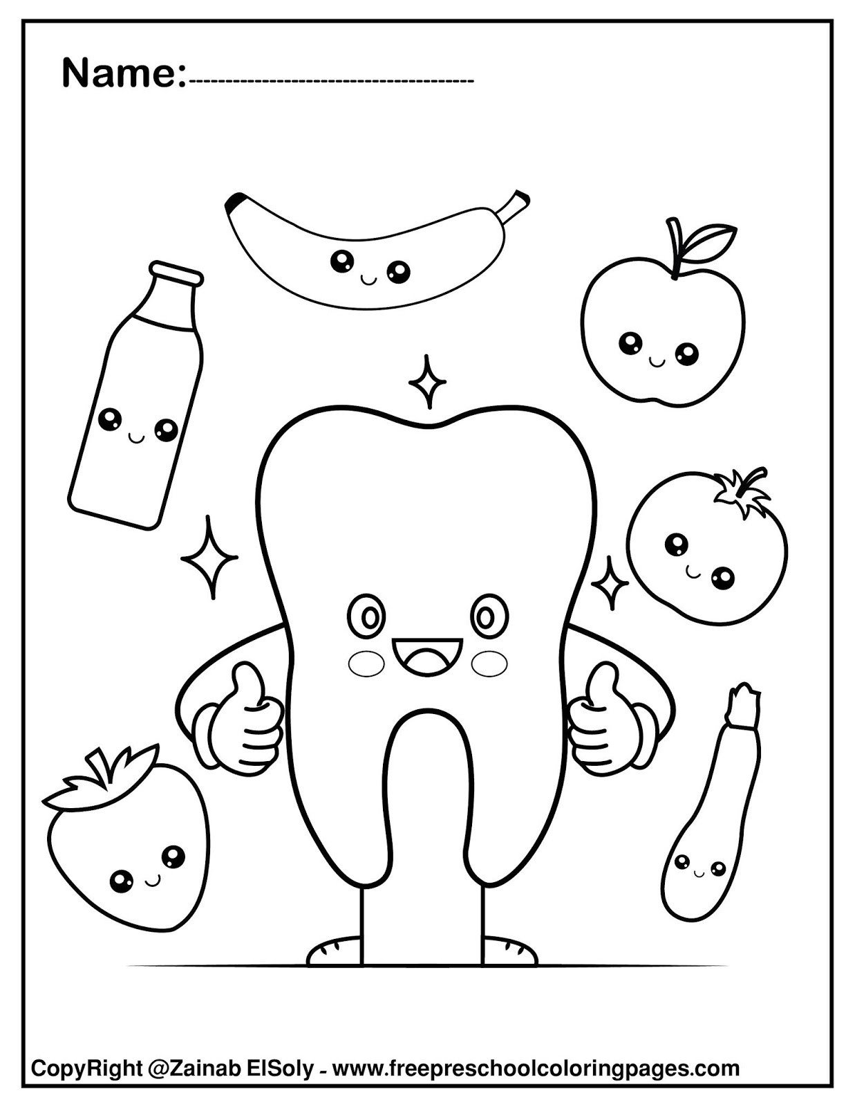 Dentist Worksheets for Kindergarten Set Free Dental Care Coloring for Kids Hygiene Worksheets