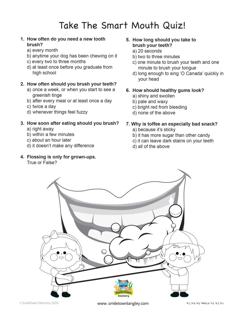 Dentist Worksheets for Kindergarten Worksheet Kids Activity Sheets Corner Smile town Childrens