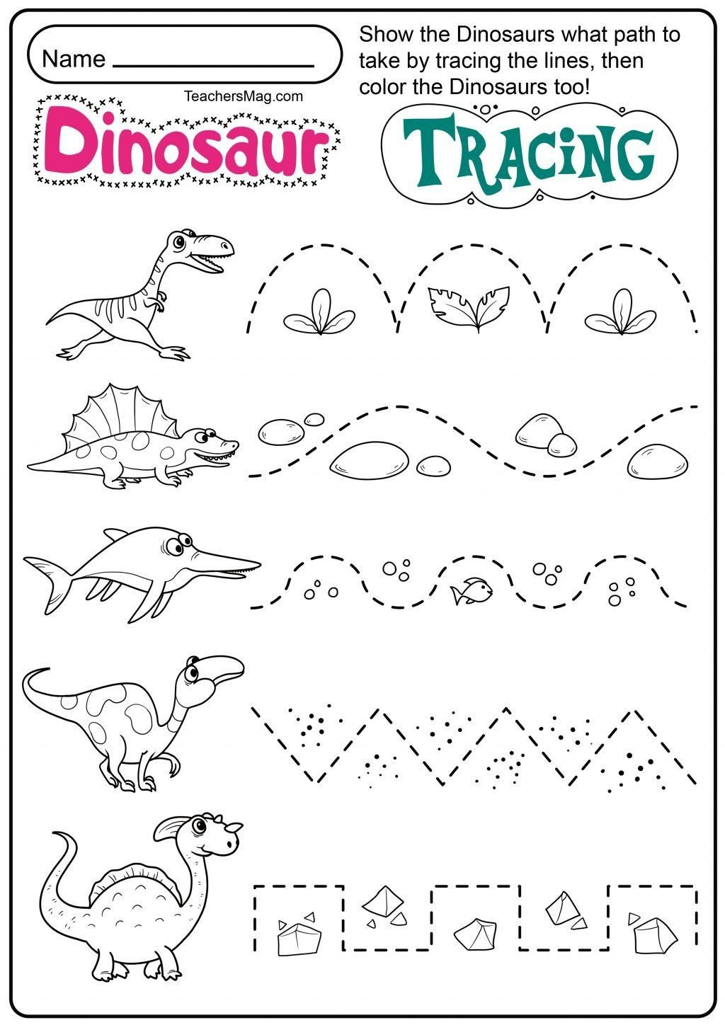 Dinosaur Worksheets for Preschoolers Pin On Sample Worksheet for Preschool